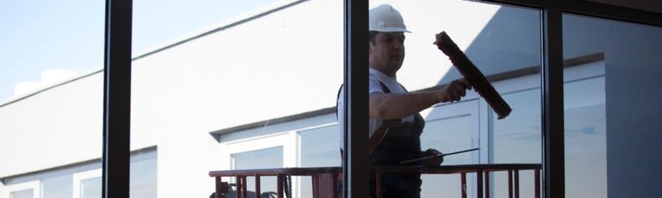 Fensterreinigung/Fensterputzer